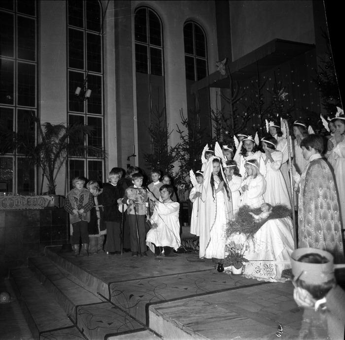 Jasełka w kościele św. Brunona,1978 r. [15]