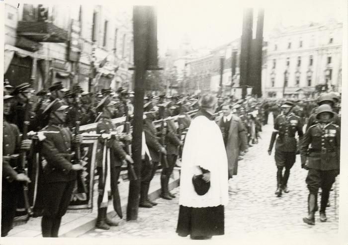 Pogrzeb serca Józefa Piłsudskiego w Wilnie [35]