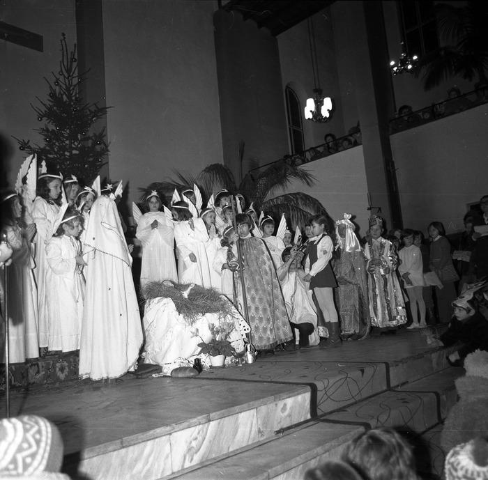 Jasełka w kościele św. Brunona,1978 r. [5]