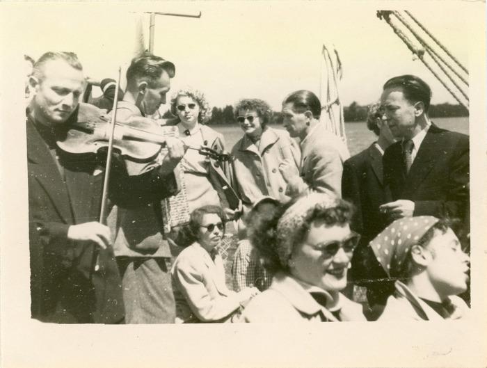 "Rejs statkiem ""M. Fornalska"" - lata 50. XX w. [5]"