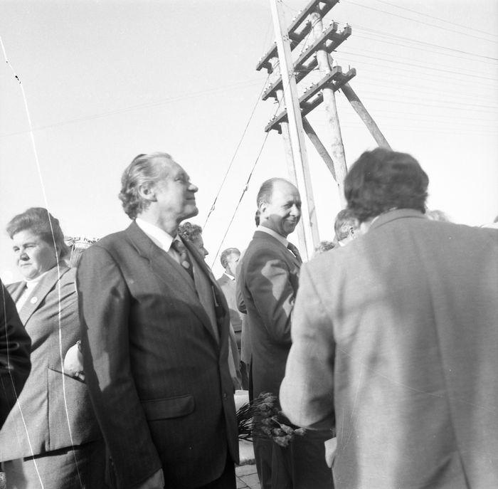 Wizyta delegacji z Giżycka w Trokach, 1987 r. [43]